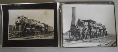 136: Railroad & Firefighting photos & booklets.