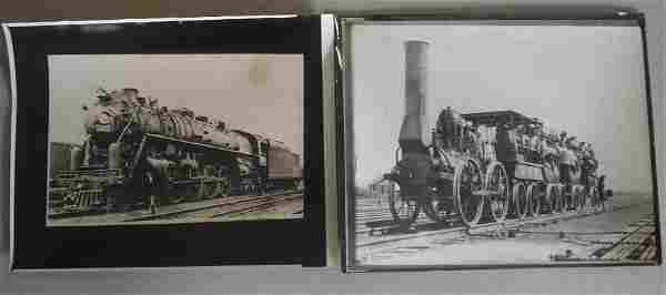 Railroad & Firefighting photos & booklets.