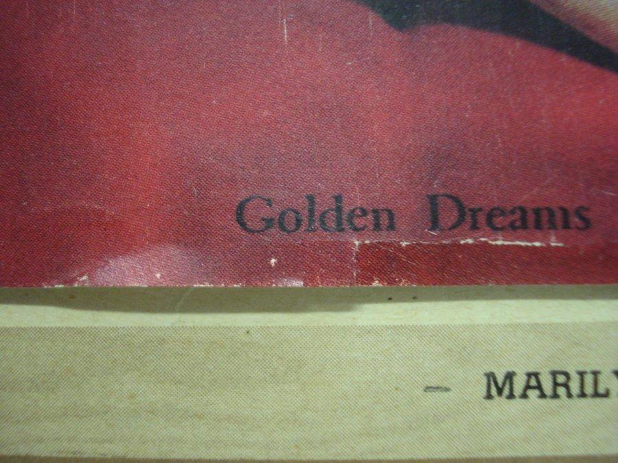 "164: Original Marilyn Monroe calendar ""Souvenir of New - 4"