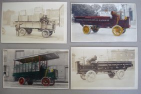 Outstanding Photo Album, With Trucks, Early 20th C