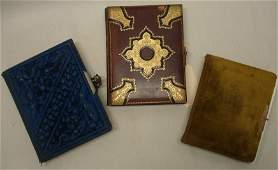 180 Three Victorian photo albums containing cabinet ca