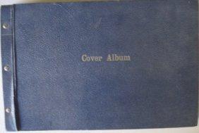 Album Containing Several Civil War Stamped Envelop