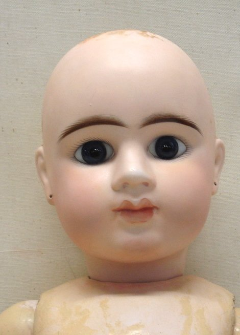 234: French E12D Depose doll - Closed mouth - blue eyes