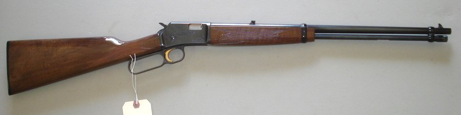 244: Browning lever action BL-22 (22 cal.) - engraved r
