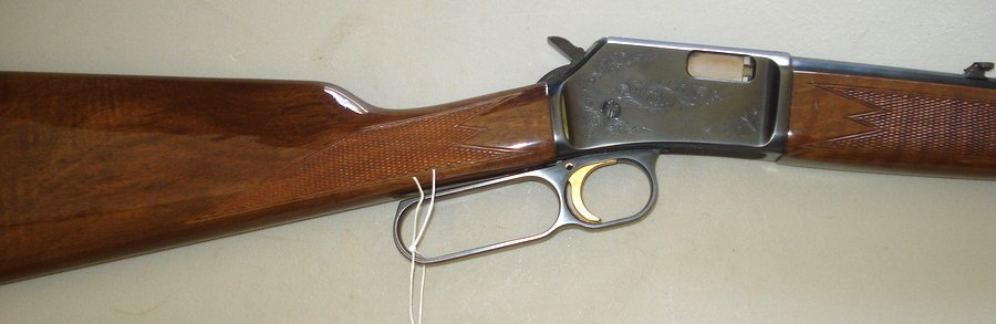 244: Browning lever action BL-22 (22 cal.) - engraved r - 2