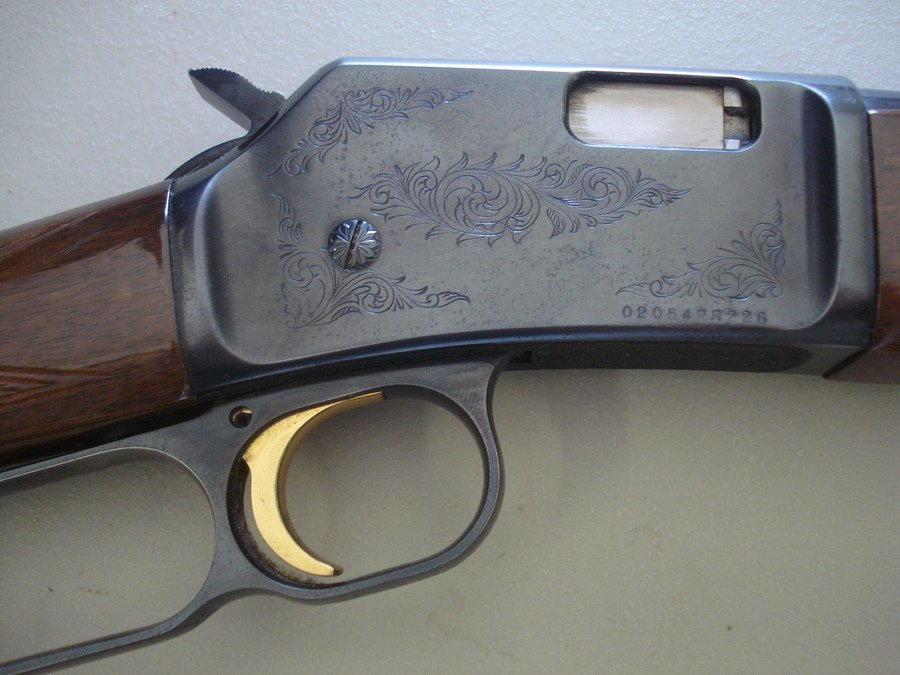244: Browning lever action BL-22 (22 cal.) - engraved r - 3