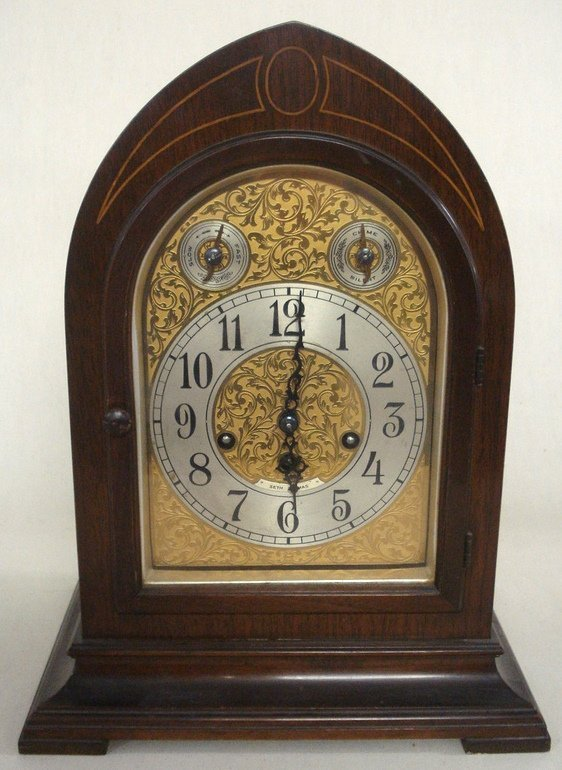 297: Seth Thomas mantel clock with Westminster chimes -