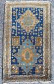 45 Persian oriental scatter rug 2 8 x 4 7
