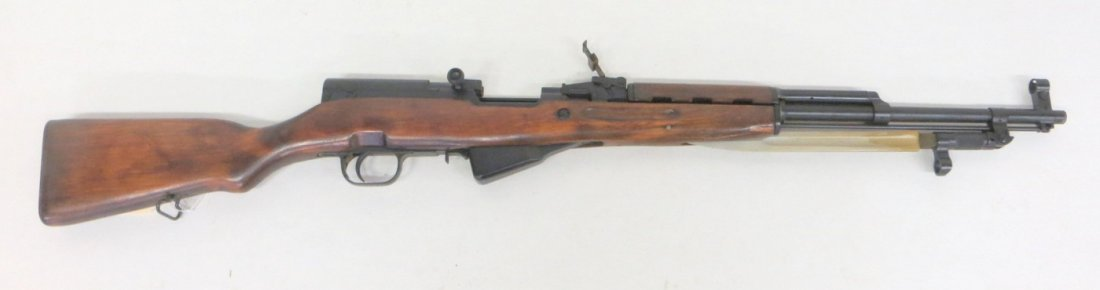 Military rifle - Russian bolt action - attached folding