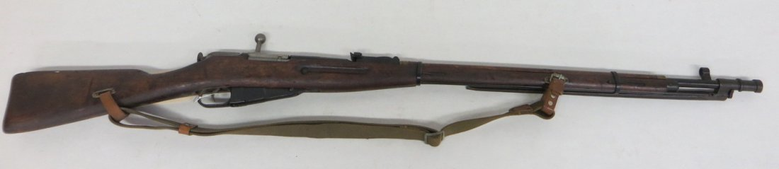 Military rifle - Russian bolt action - marked 1939 - wi