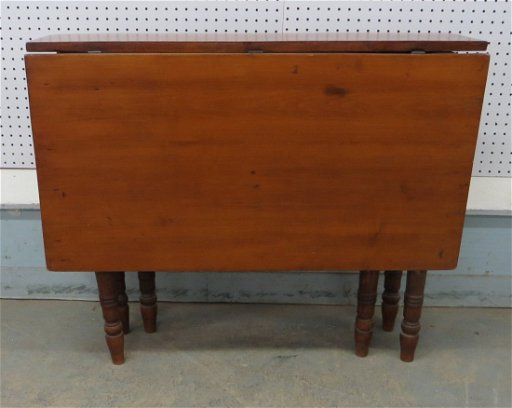 Very Narrow Swing Leg Drop Leaf Table