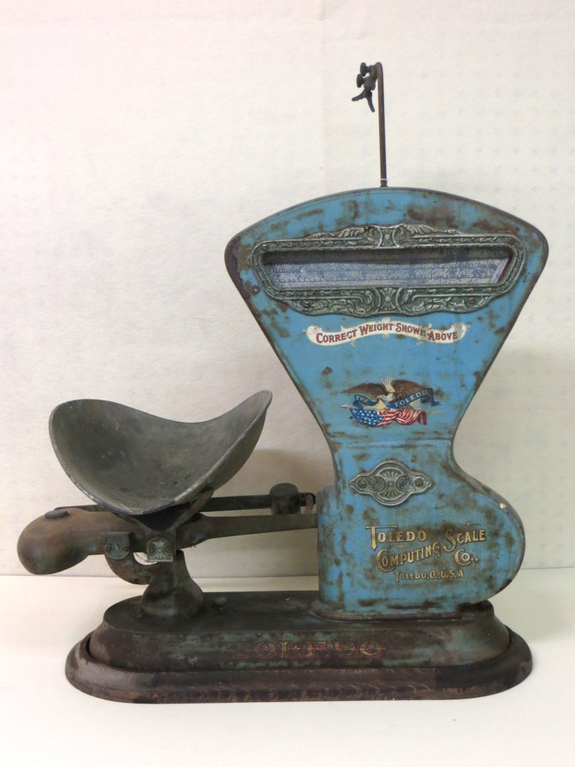Signed Toledo Computing Scale Co country store scale in