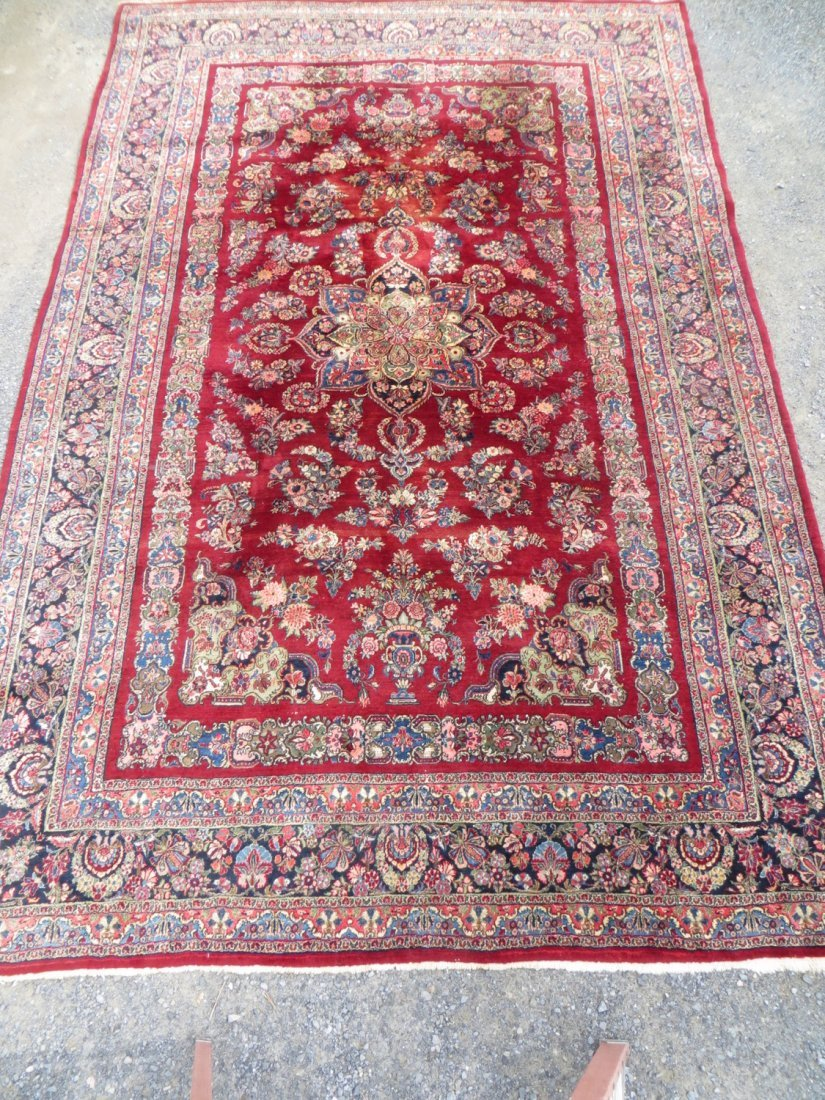 Large room size oriental carpet - circa 1930-50  - hand