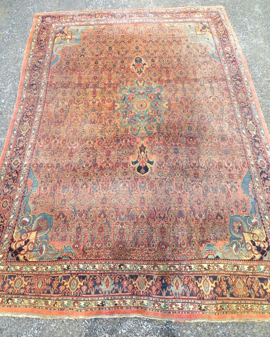 Room size oriental carpet - late 19th to early 20th cen