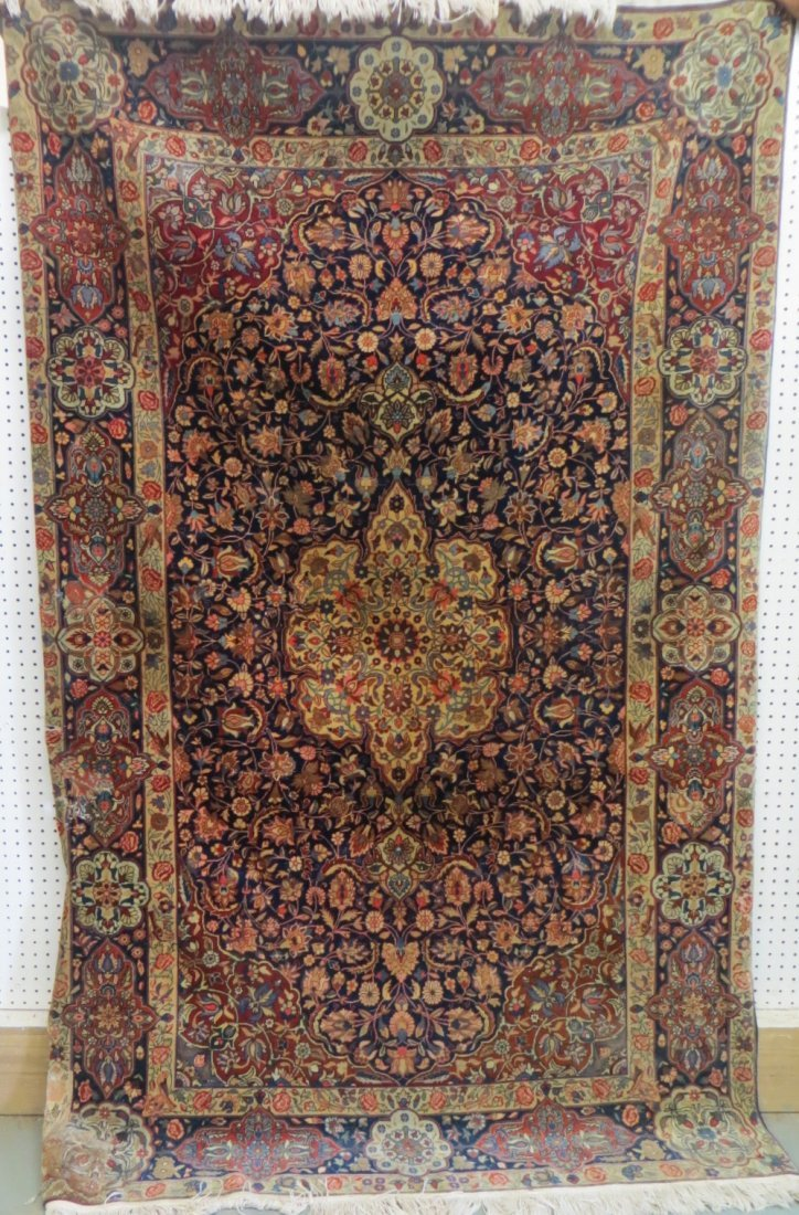 Oriental scatter rug - high quality with tight knotting