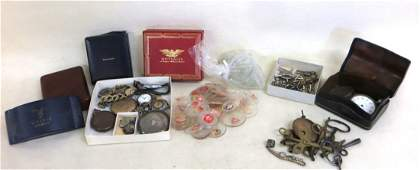 Collection of mostly wrist watches and pocket watches