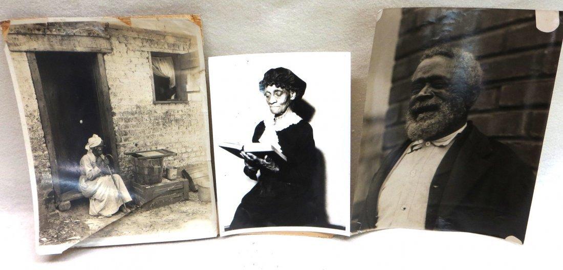 Three early 20th century Associated Press photos of