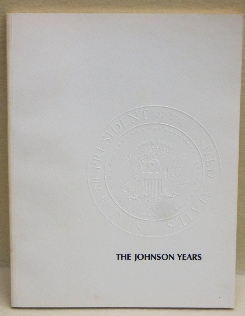 """Book entitled """"The Johnson Years"""" New York January 13,"""