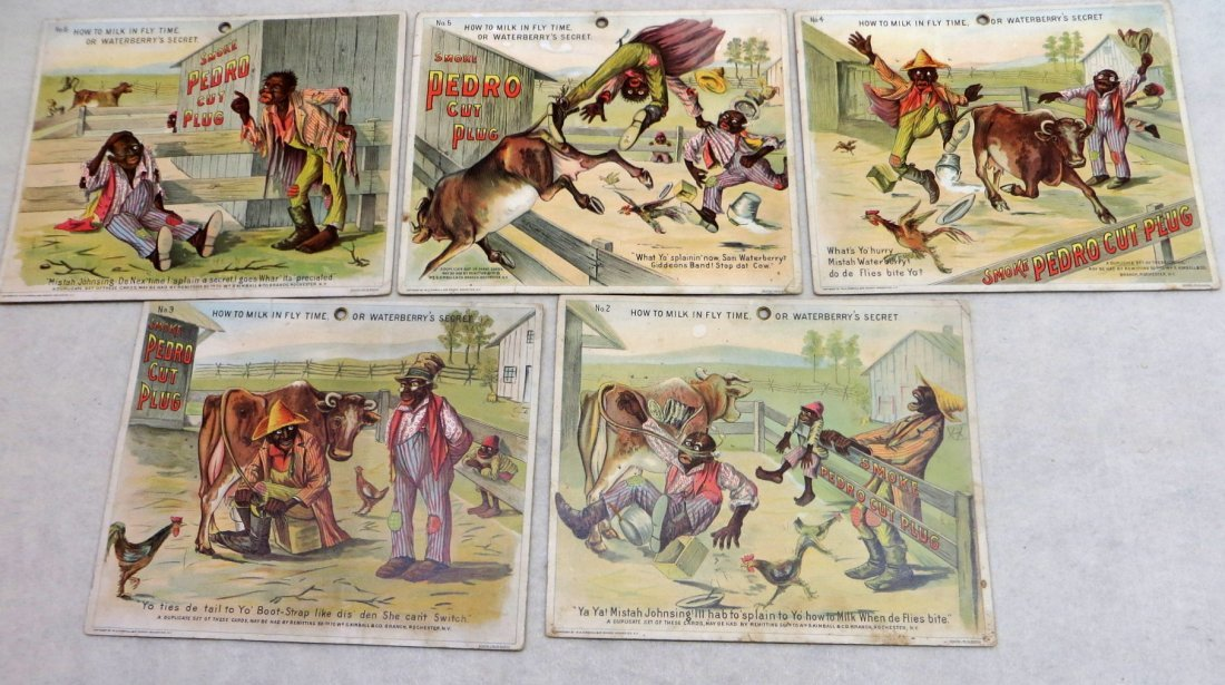 Collection of 5 whimsical Black Americana large