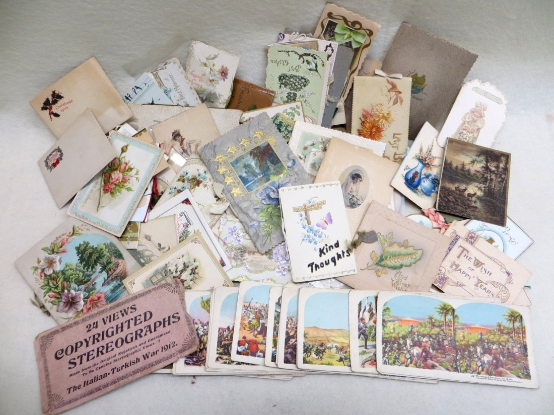"""Collection of mostly """"Best WIshes"""" and holiday cards"""