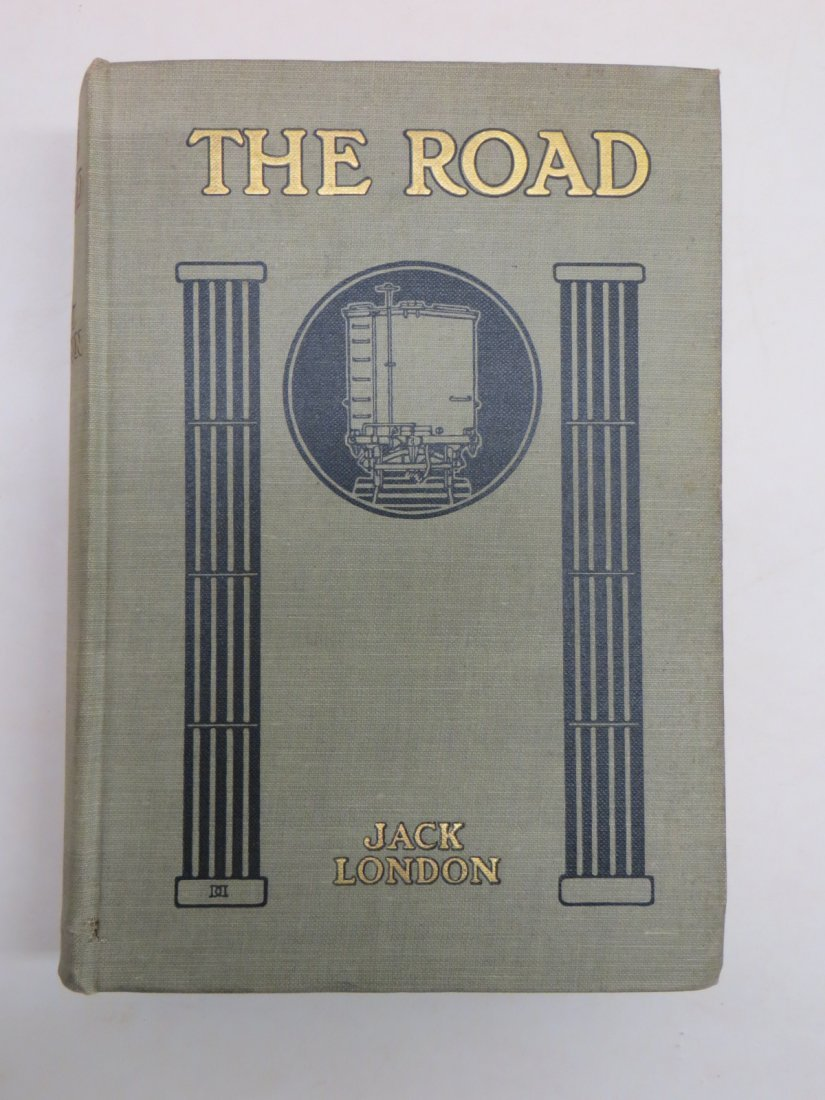 """Book """"The Road"""" by Jack London - illustrated -"""