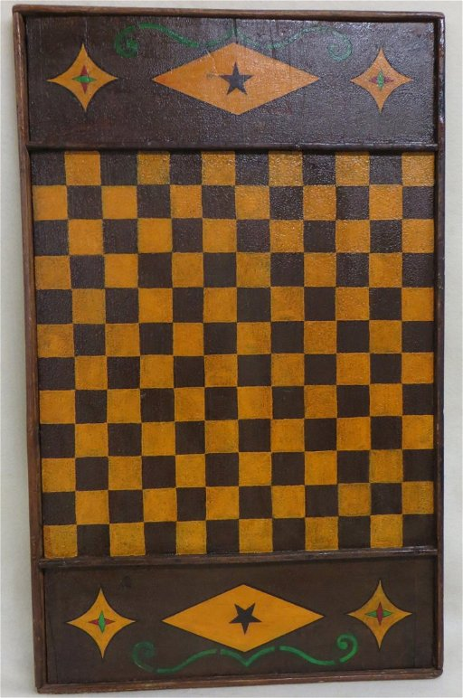 Double Sided Game Board Of Parcheesi And Checkers May