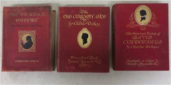 """Three Charles Dickens books including: """"The Personal"""