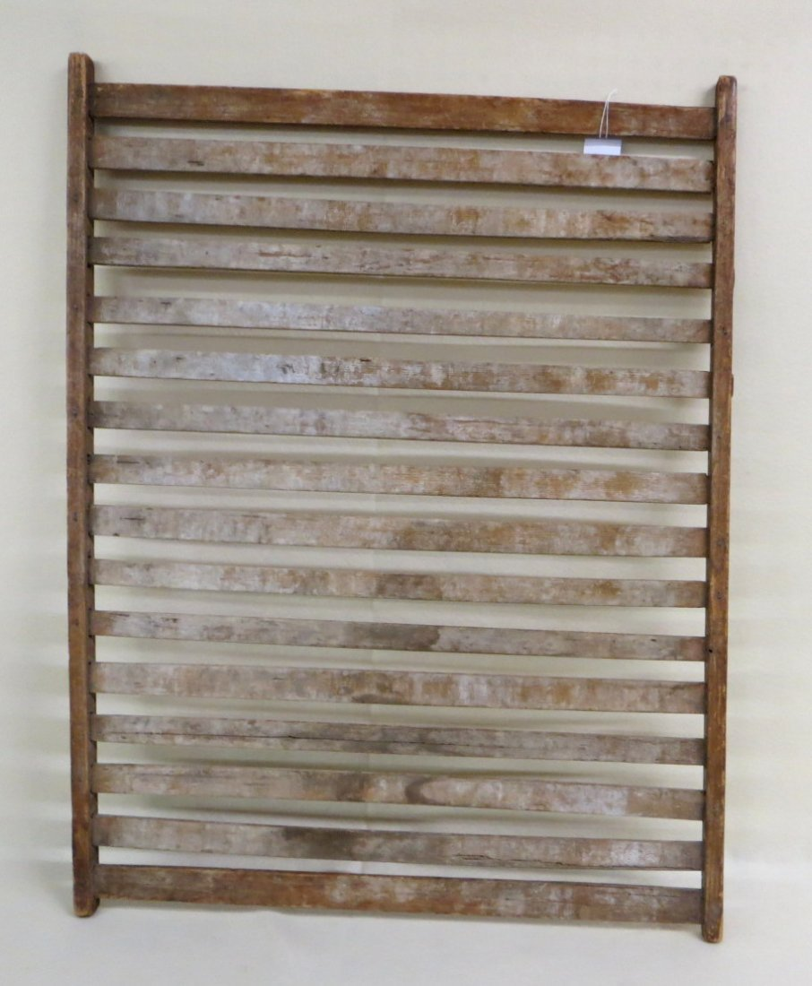 Early mortised herb drying rack - early 19th century -