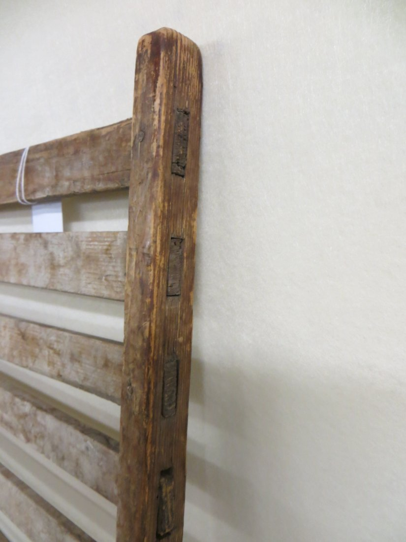 Early mortised herb drying rack - early 19th century - - 3