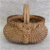 Outstanding miniature buttocks basket - probably late