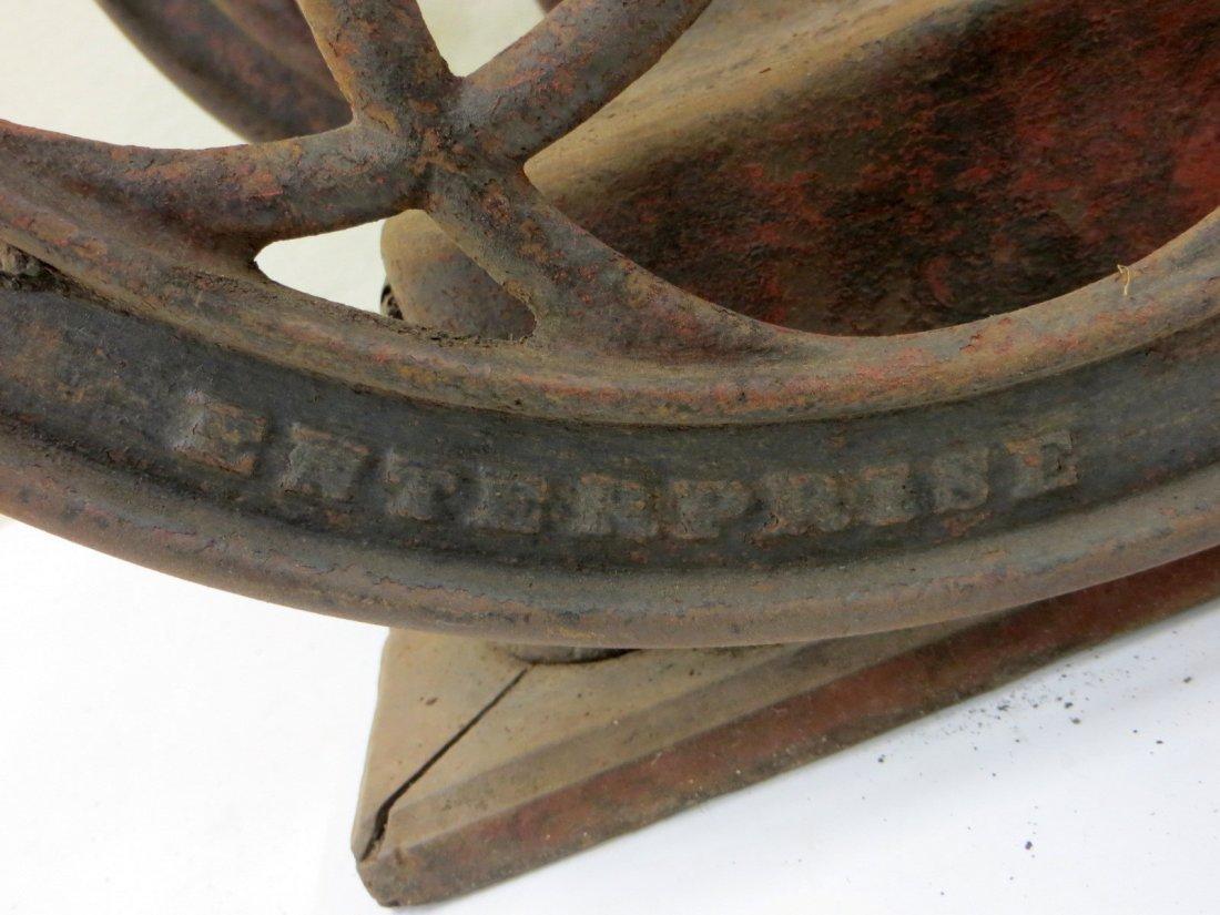 Enterprise Mfg. Co. Philadelphia PA. double wheel - 3