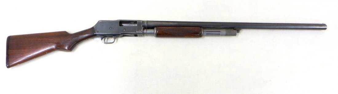 western field model 30 12 gauge pump action shotgun for