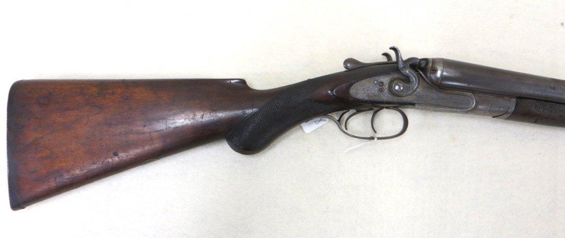 C.G. Bonehill double barrel SxS hammer 12 gauge shotgun