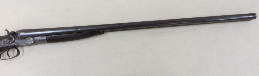 C.G. Bonehill double barrel SxS hammer 12 gauge shotgun - 2