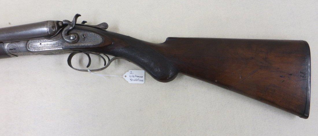 C.G. Bonehill double barrel SxS hammer 12 gauge shotgun - 6