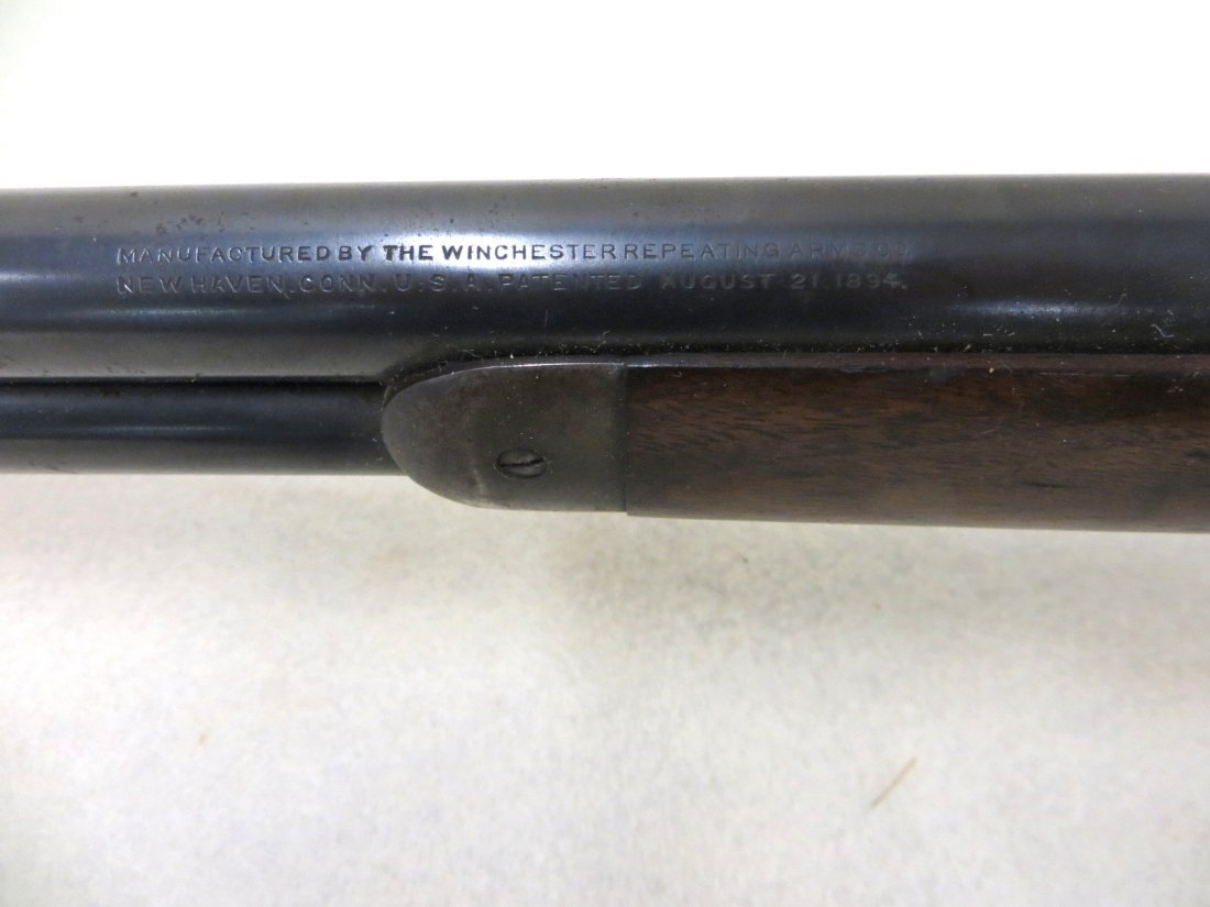 Winchester model 1894 lever action 32 special rifle, - 9