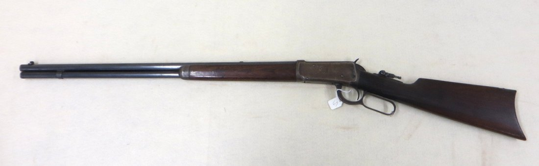 Winchester model 1894 lever action 32 special rifle, - 2