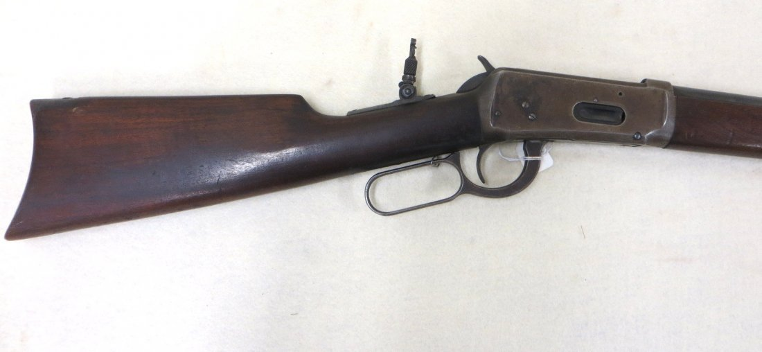 Winchester model 1894 lever action 32 special rifle, - 7