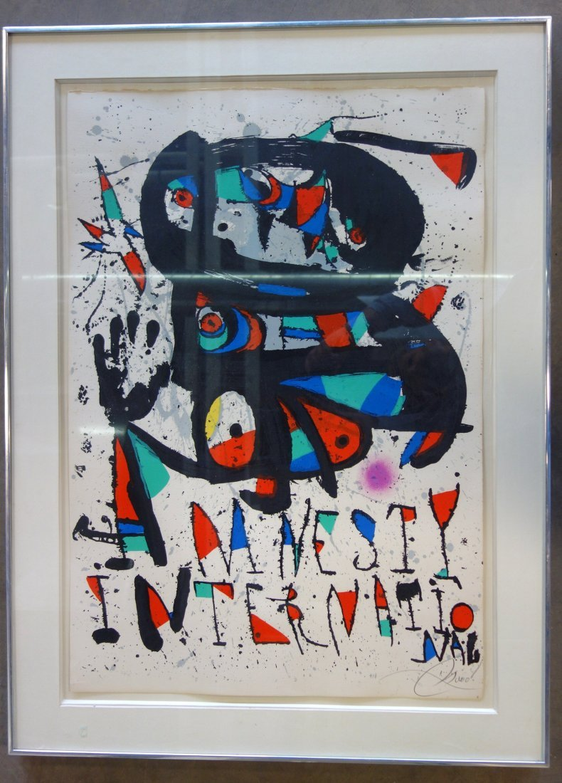 Joan Miro (Spain/France, 1893 - 1983) limited edition