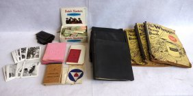 Two Boxes Of Miscellaneous Railroad Related Papers