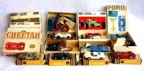 Grouping Of 6 Slot Car Models In Original Box, All