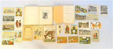 Grouping of African American books and ephemera