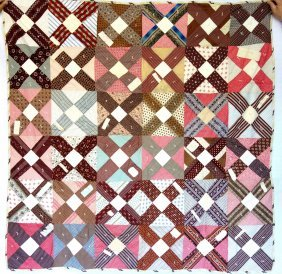 Signature Patchwork Child's Quilt - Small Pieces Of