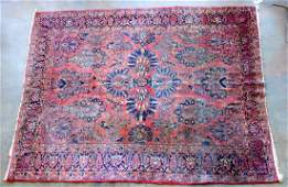 Room size oriental rug - very tight knotting - 2 small