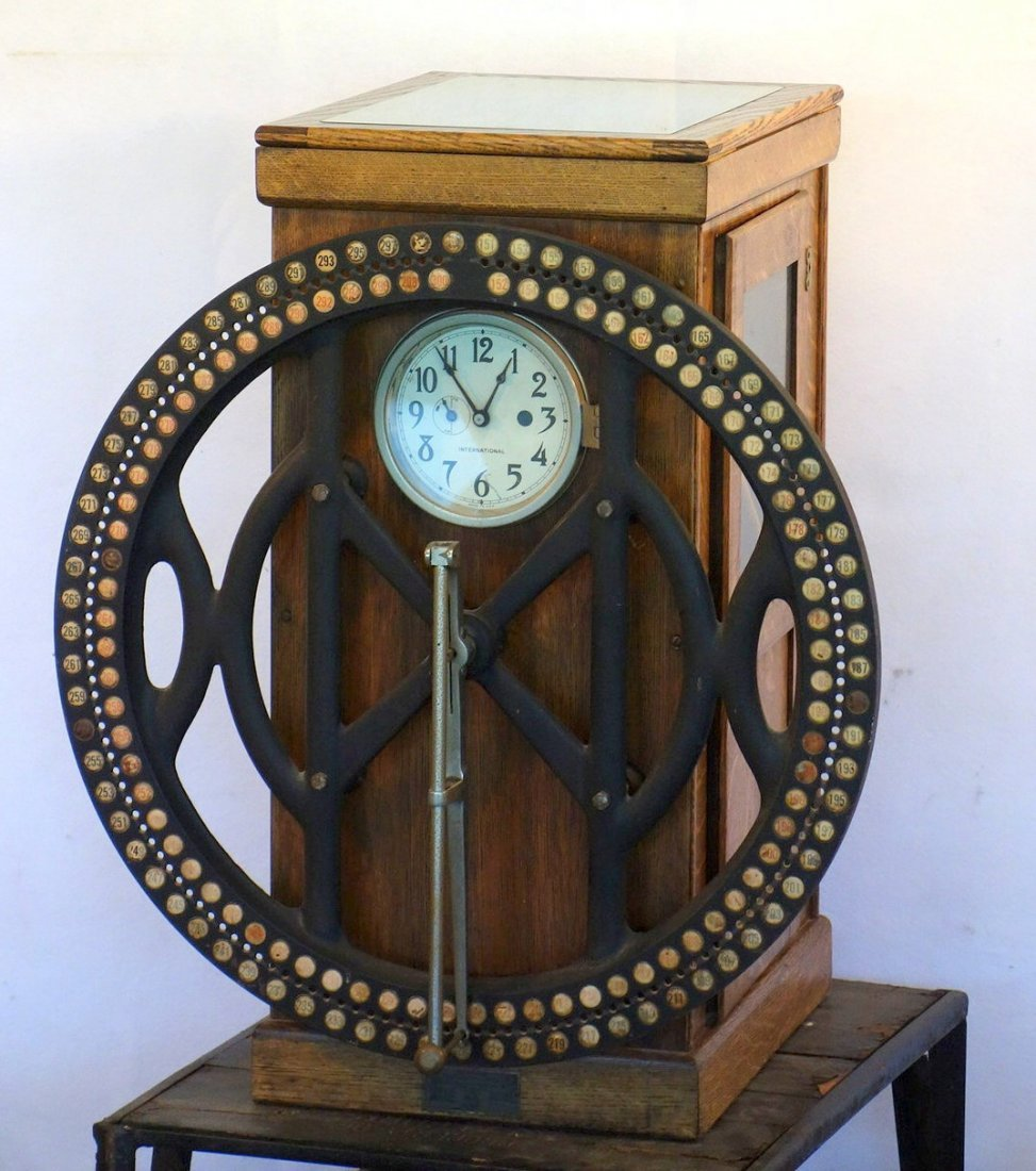 International Time Recording Company clock, one of the