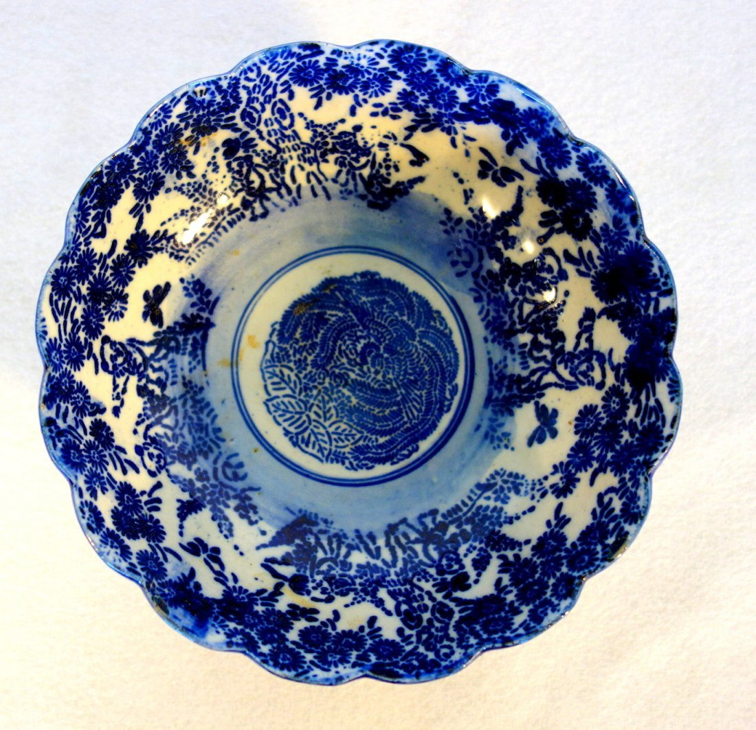 Grouping of 5 pieces of oriental china including yellow - 2