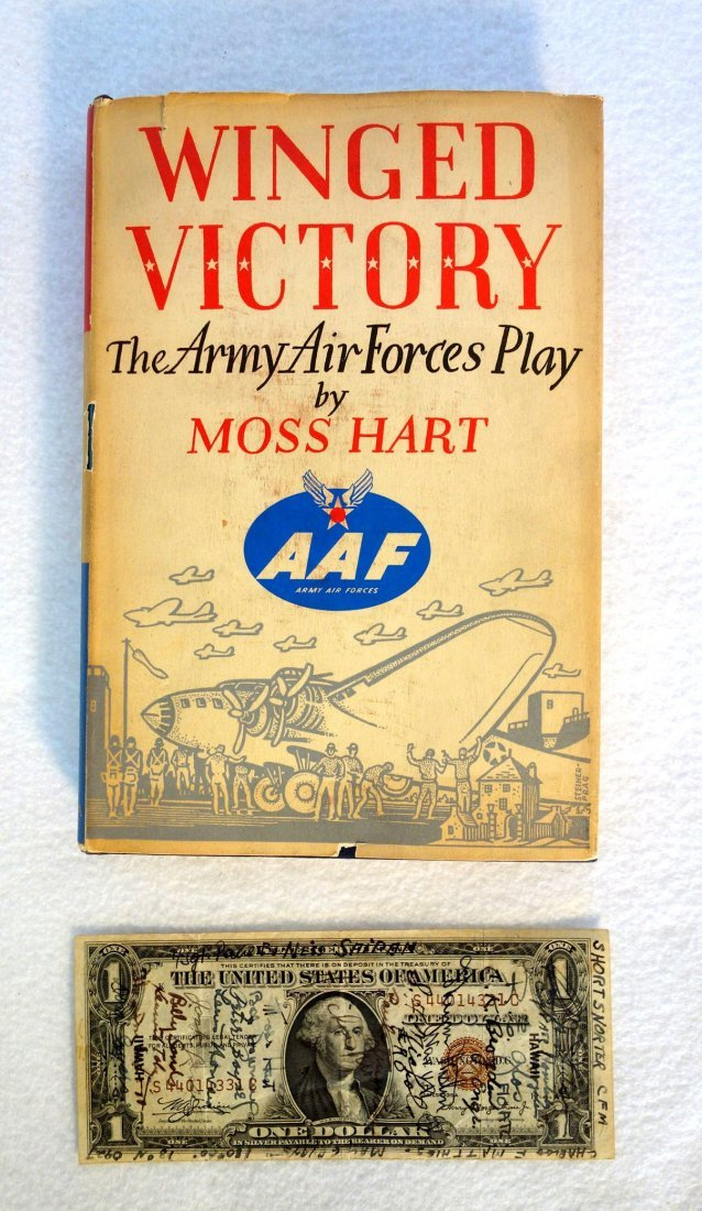 """Book entitled """"Winged Victory"""" by Moss Hart - 2nd"""