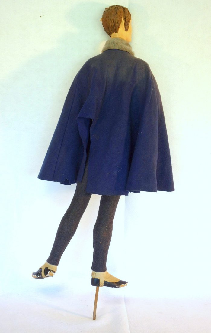 Composition dressed store mannequin (or stage figure) - 3