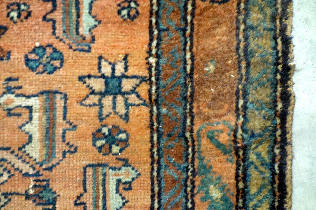 """Oriental scatter rug - 2' 6"""" x 3' 11"""". Good condition. - 2"""