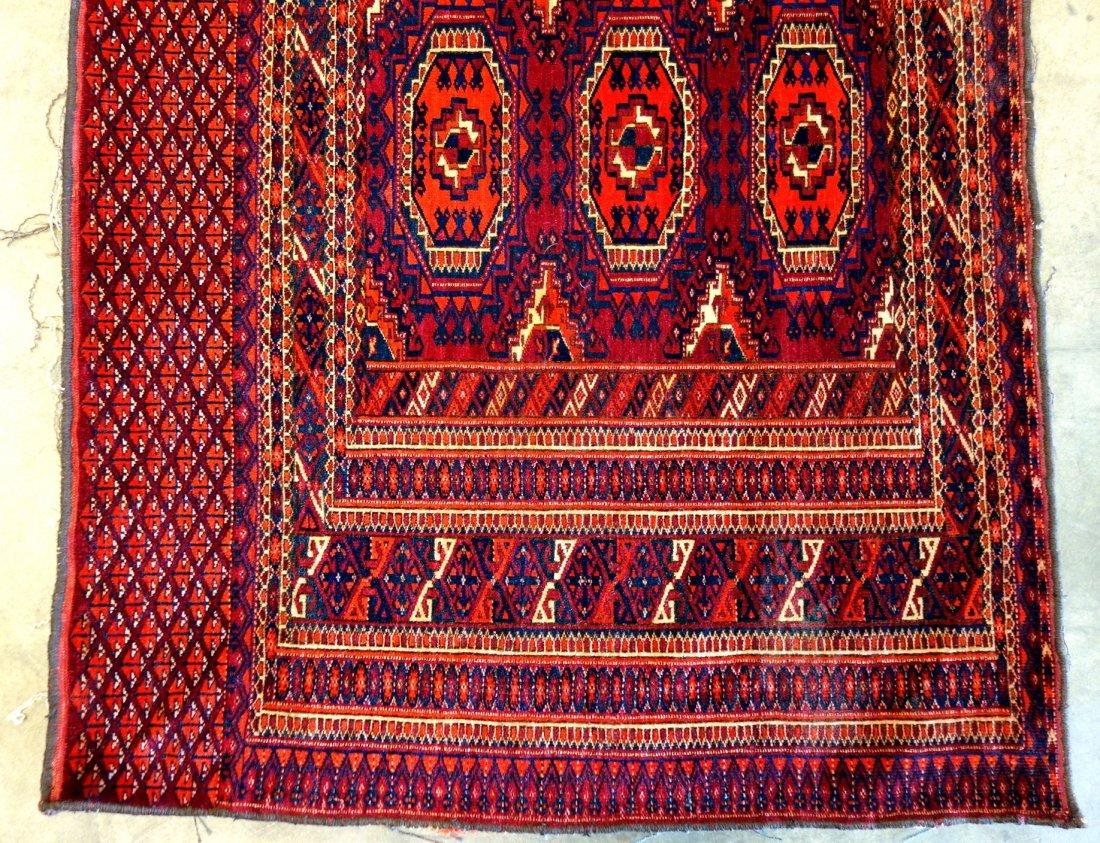 "Oriental Bokhara high quality rug - 2' 7"" x 6'. Very - 2"